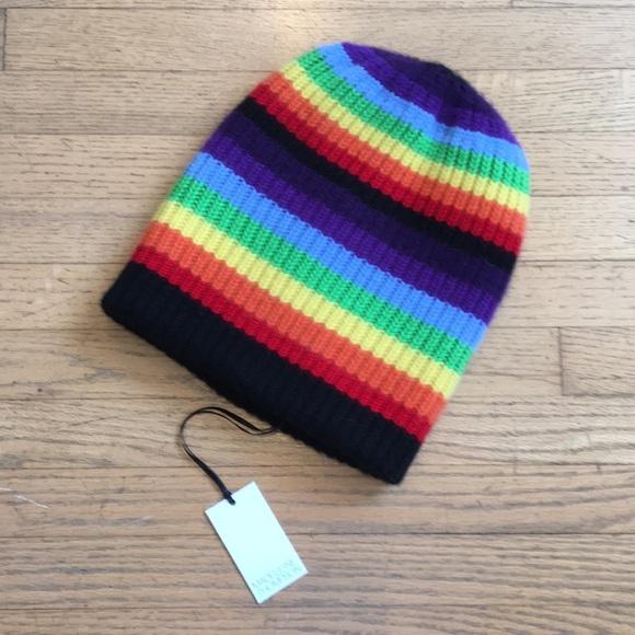 Madeleine Thompson rainbow Cashmere hat eedb7e3f58ad